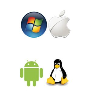Windows, apple, Linux and Android
