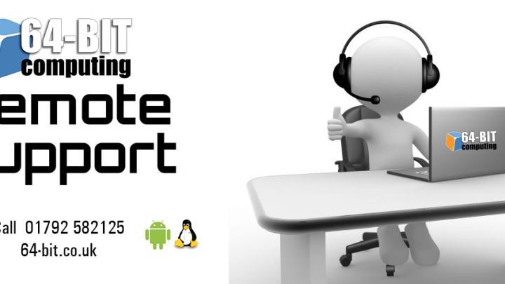 Remote IT support Swansea